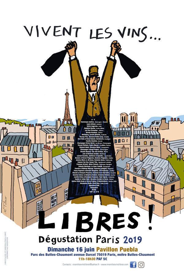 Vivent les vins LIBRES revient à Paris.