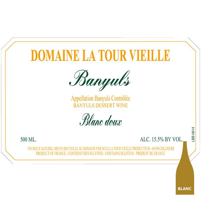 Banyuls blanc doux - La tour Vieille
