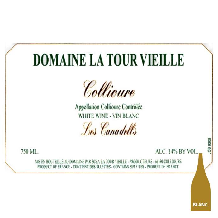 Collioure blanc Canadeills - La Tour Vieille