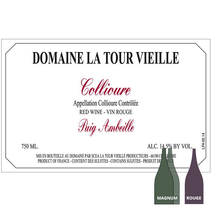 Collioure Puig Ambeille - La Tour Vieille