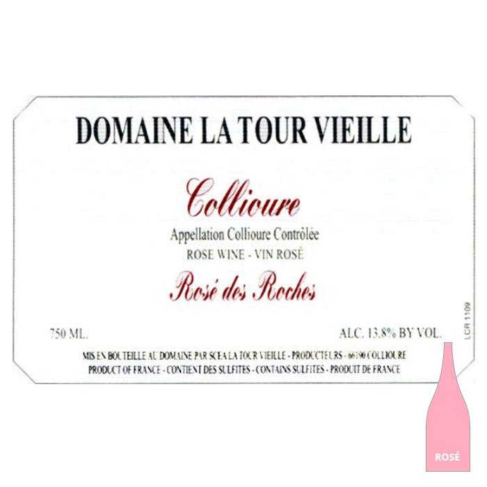 Collioure Rosé des Roches - La Tour Vieille